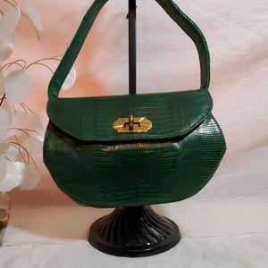 Vintage 60's Snakeskin Handbag
